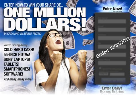 Inbox Dollars Sweepstakes Winners - tigerdirect com enter now to win your share of 1 million in cash and prizes