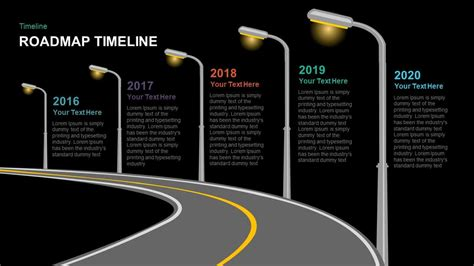 Roadmap Timeline Powerpoint And Keynote Template Slidebazaar Roadmap Timeline Template Ppt