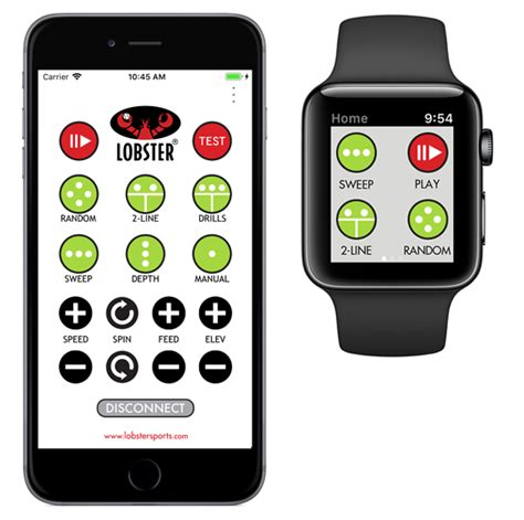 Lobster Grand Remote For Apple Tennis App For Iphone Watch