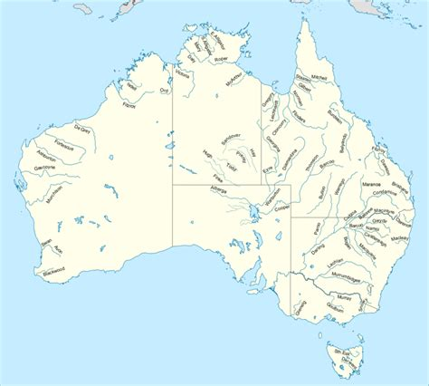 australian names rivers in australia budget car rental