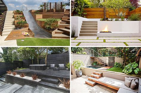 Multi Level Backyard Ideas 13 Multi Level Backyards To Get You Inspired For A Summer Backyard Makeover Contemporist