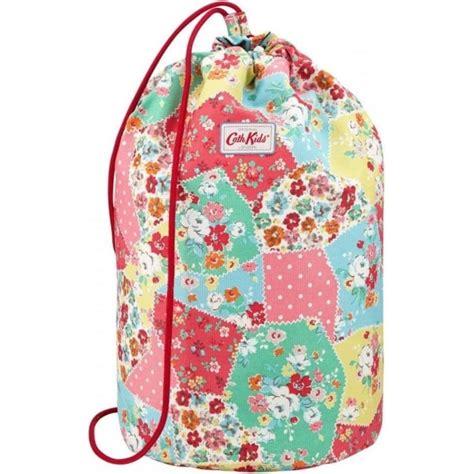 Cath Kidston Patchwork - cath kidston floral patchwork drawstring barrel bag