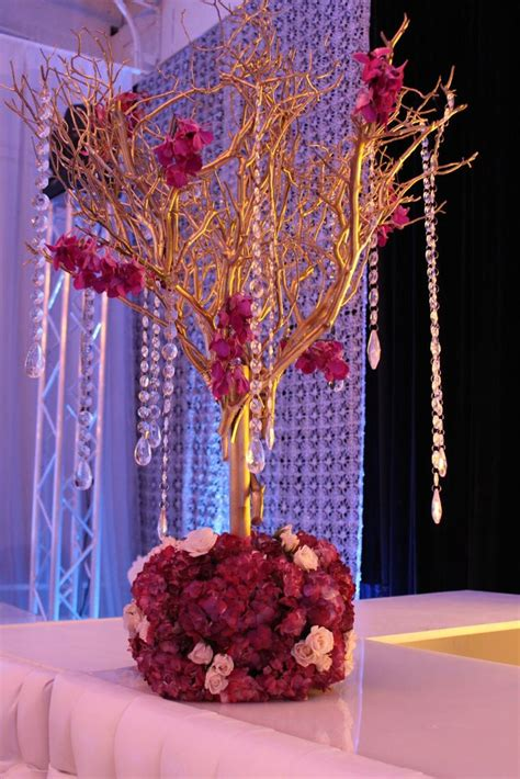 1000 ideas about white branch centerpiece on