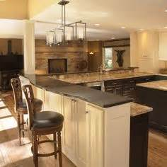kitchen peninsula design peninsula on pinterest kitchen peninsula kitchens and
