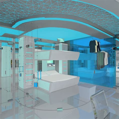 bedrooms of the future jovoto future space smart room hotel room 2022