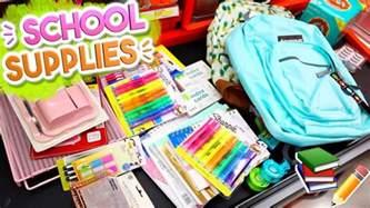 School Favors by Back To School Supplies Haul 2017 Alisha