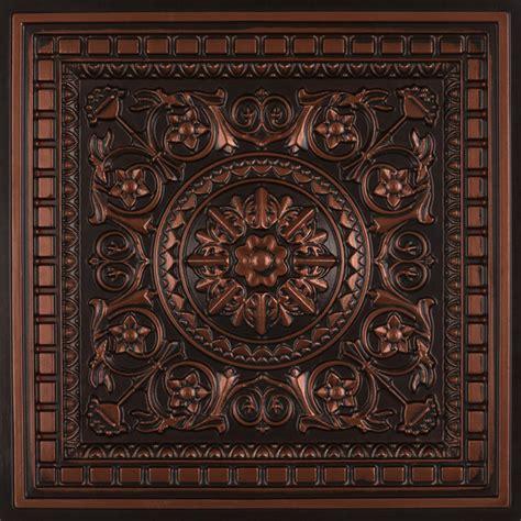 copper drop ceiling tiles da vinci faux tin ceiling tile drop in 24 quot x24