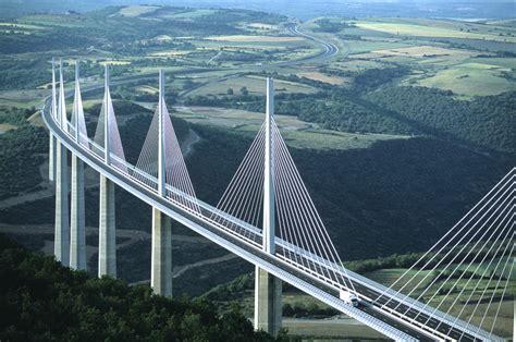 Millau Bridge 10 Tallest Bridges In The World