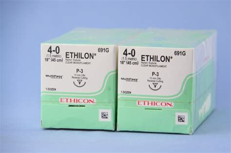 Buy 1 Get 1 Green Needle Stapler ethicon suture 691g 4 0 ethilon clear 18 quot p 3 cutting