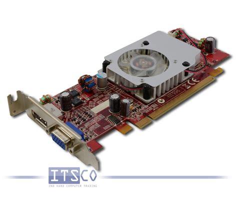Vga Hd3470 ati radeon grasfikkarte hd 3470 pcie x16 halbe h 246 he 256 mb g 252 nstig gebraucht kaufen bei itsco