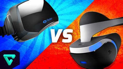 project morpheus vs the oculus rift