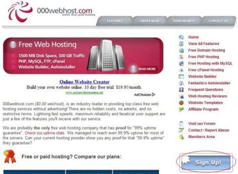 tutorial free web hosting contratar un alojamiento web gratis