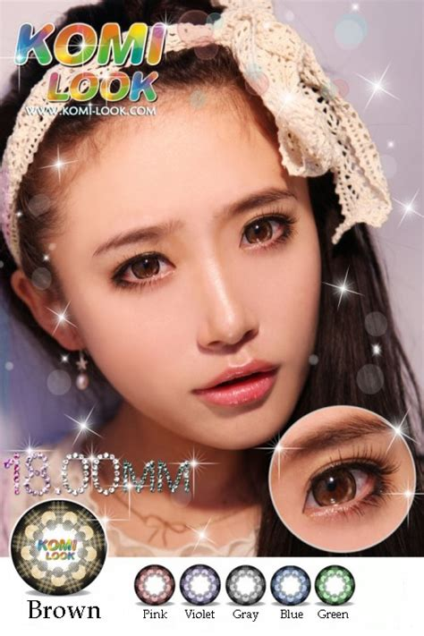 Softlens Coco Eye 3 Tones Brown Coklat pin coco eye softlens 3tone murah distributor on