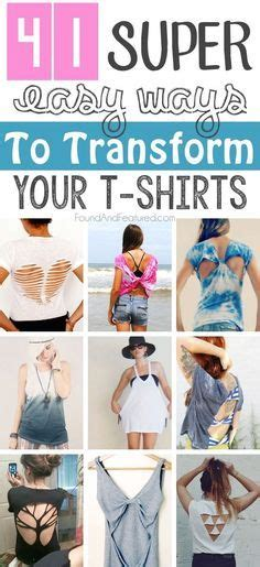 8 Ways To Customise Your Clothes by 41 Insanely Easy Ways To Transform Your Shirts For Summer
