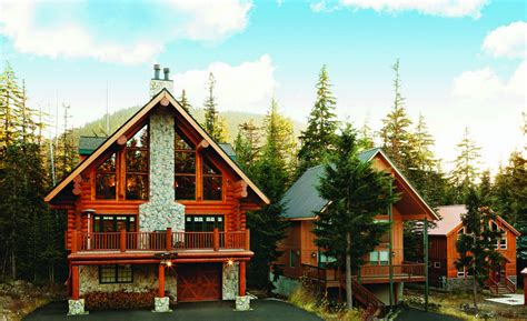 log home renovation updating an oregon ski lodge