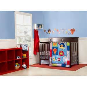 Monsters Crib Bedding Set Graco Baby Monsters 3 Crib Bedding Set Bedding Decor Walmart Nursery