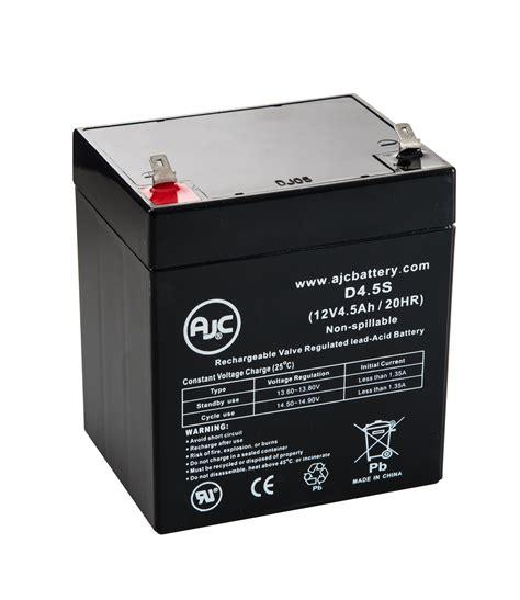 adt 804302 12v 4 5ah alarm battery batteryclerk