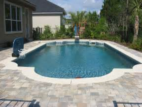 in ground pools inground pools jacksonville fl 171 jacksonville pool builder