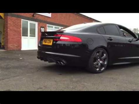 jaguar xfr exhaust jaguar xfr fitted with spires x pipe exhaust centre