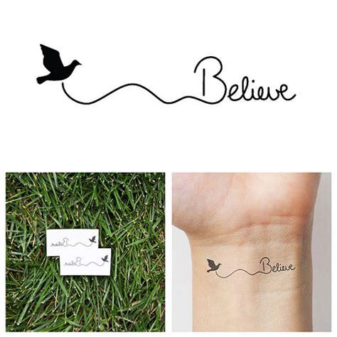 tinta tattoo temporary bandung believe temporary tattoo set of 2 tatuajes y tinta