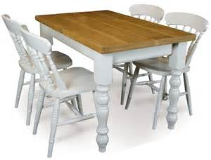 Pine Kitchen Table And Chairs Pine Classic Farmhouse Dining Table And 4 Fiddle Back Chairs T3048cset