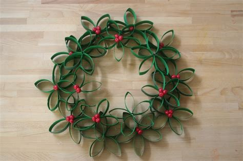 toilet paper roll wreath craft 20 toilet paper roll crafts for the most