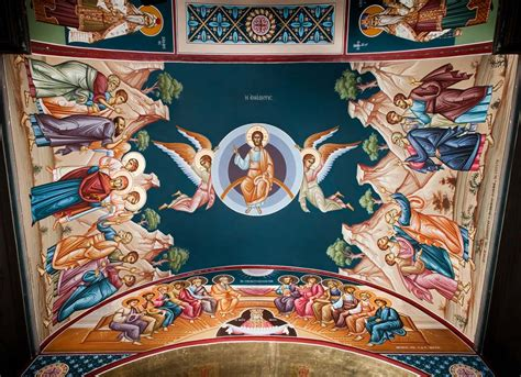 Interior Home Painting Pictures byzantine murals