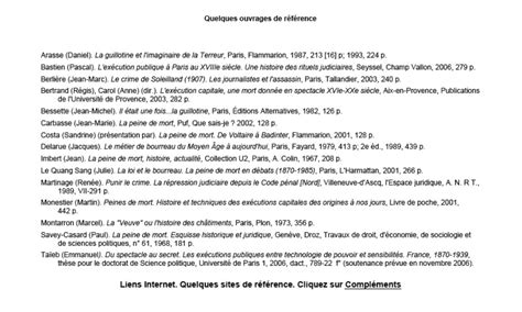 Lettre De Remerciement Translation Bibliography Credits And Aknowledgements Criminocorpus