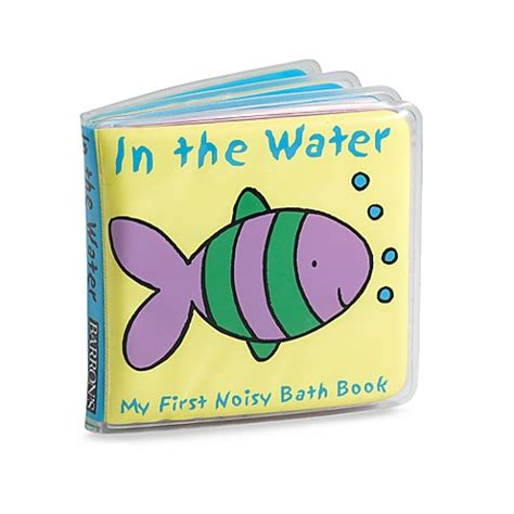 bathroom book in the water in my first noisy bath book buybuy baby