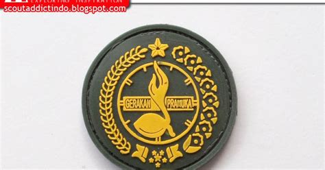 Kancing Baju Jas Logo Tunas Pramuka pacth karet pramuka logo gerakan pramuka kedai atribut perlengkapan pramuka