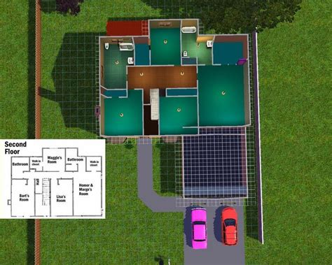 mod the sims the simpsons house 742 evergreen terrace pyrite1 s 742 evergreen terrace