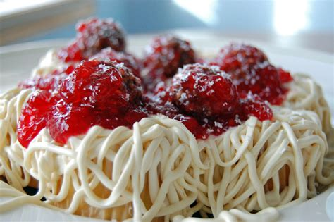 How About A Spaghetti For Dessert by April Fools Spaghetti Meatballs Or Not
