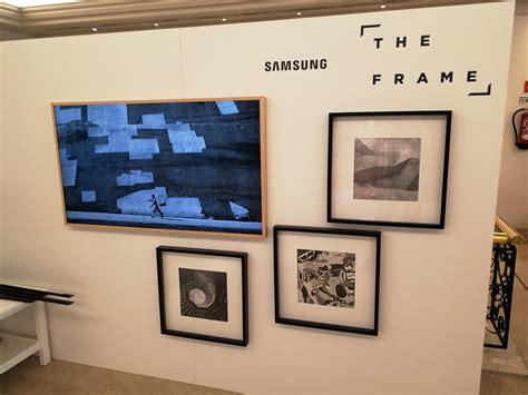 Tv Samsung Mei samsung brengt frame schilderij televisies in mei op de markt
