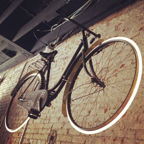 neon light wall bicycle custom neon light wheels houndstooth road bicycle shop