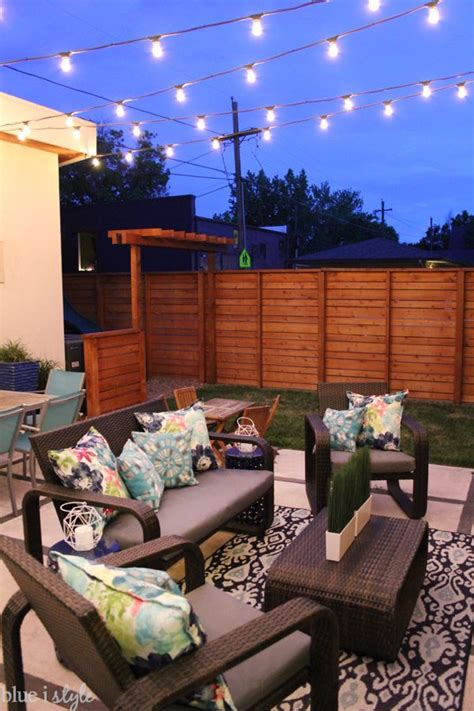 how to install string lights 1000 ideas about patio string lights on