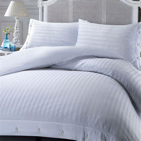 hotel quality bedding 100 luxury hotel quality egyptian cotton satin stripe