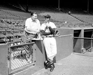 tom yawkey patriarch of the boston sox books tom yawkey and ted williams fenway park circa 1948