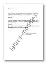 Modèle et exemple de lettres type : Mail - procuration