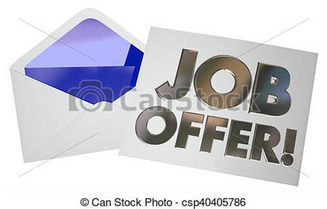 Offer Letter Icon Stock Illustration Of Offer Envelope Letter Note Opening New Career 3d Csp40405786