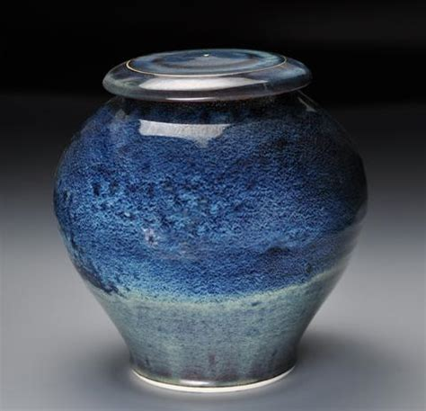 Handmade Urns - handmade galaxy ceramic cremation urn for ashes handmade