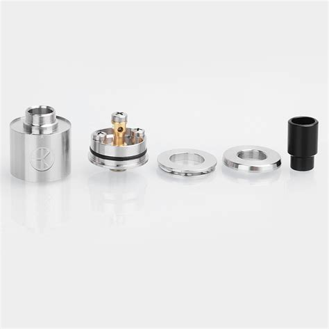 Aios Tank Rda Rebuildable Atomizer das tank ding style bf rda silver 316ss 22mm atty w protective