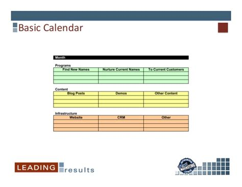 Calendars That Work For You Creating A Marketing Calendar That Works For You