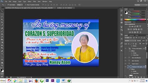 layout design maker for tarpaulin photoshop tutorial l how to make a tarpaulin layout design