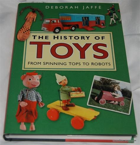 toys books book338 the history of toys by deborah jaffe antique