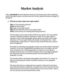 Industry Report Sample Sample Market Analysis 7 Documents In Pdf Word