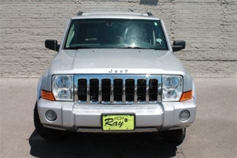 07 Jeep Commander For Sale Buy Used 07 Jeep Commander Loaded Limited 4wd Navigation