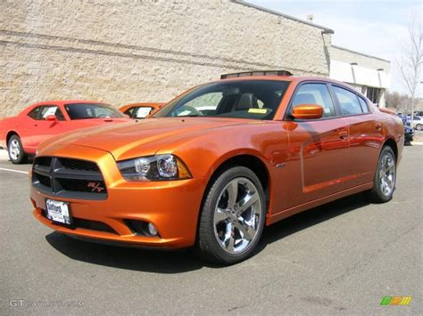 2011 toxic orange pearl dodge charger r t road track 47636120 gtcarlot car color