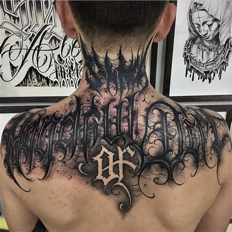 tattoo lettering gothic gothic graffiti and calligraphic script lettering tattoos