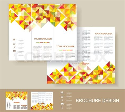 book page layout design vector print poster design template book cover background