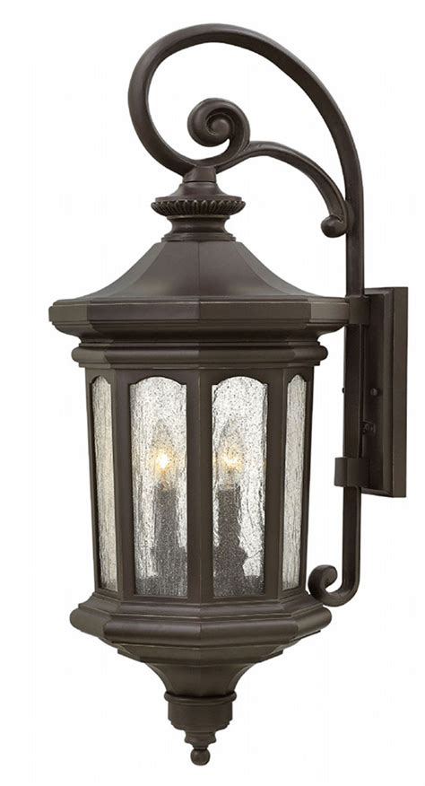 Hinkley 1605oz Raley Traditional Oil Rubbed Bronze Outdoor Rubbed Bronze Outdoor Light Fixtures